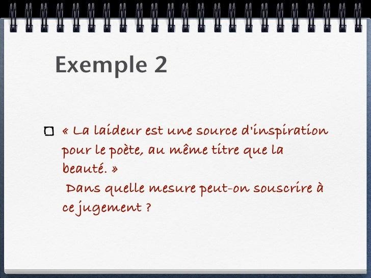 Dissertation critique exemple plan