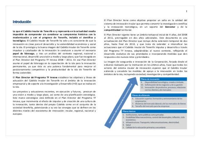 1 Introducción Lo que el Cabildo Insular de Tenerife es y representa en la actualidad resulta imposible de comprender sin ...
