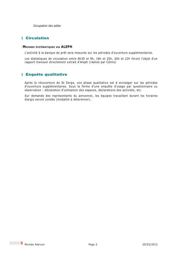 Plan d'évaluation de l'extention des horaires d'ouverture dans les BU de l'Université d'Angers Slide 2
