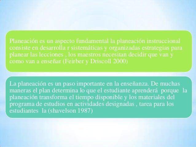 Planeación educativa Alejo, Gómez  y Orozco. Slide 3