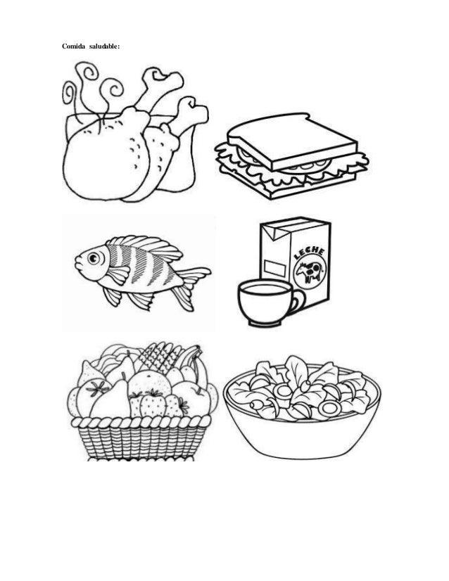 Dibujos De Alimentos Saludables Para Colorear Colorear Classy World