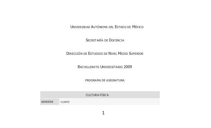 UNIVERSIDAD AUTÓNOMA DEL ESTADO DE MÉXICO                            SECRETARÍA DE DOCENCIA              DIRECCIÓN DE ESTU...