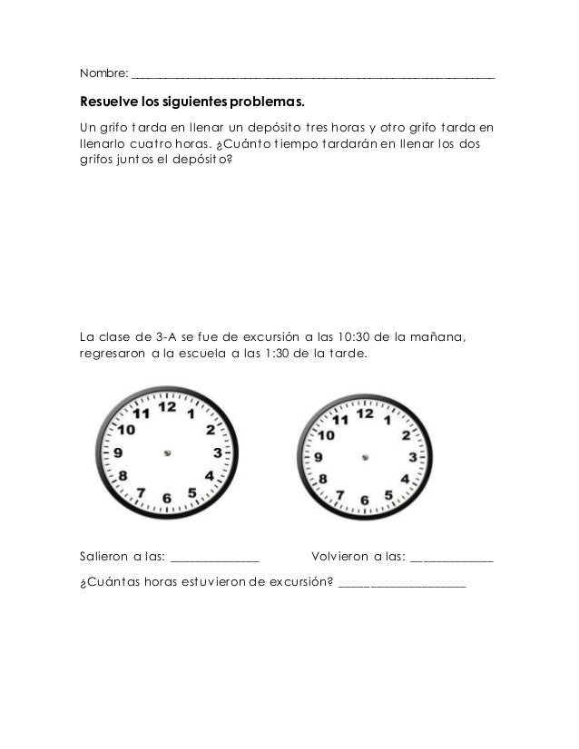 Planeacion de matematicas de tercer grado - Mecanismo para reloj de pared ...