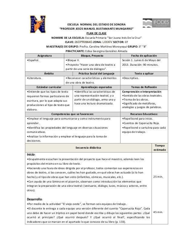 """ESCUELA NORMAL DEL ESTADO DE SONORA                          """"PROFESOR JESÚS MANUEL BUSTAMANTE MUNGARRO""""                  ..."""