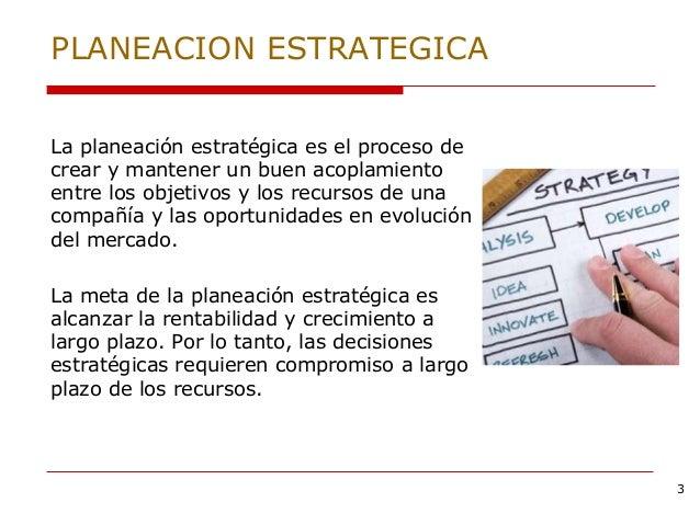 Planeacion Estrategica Slide 3