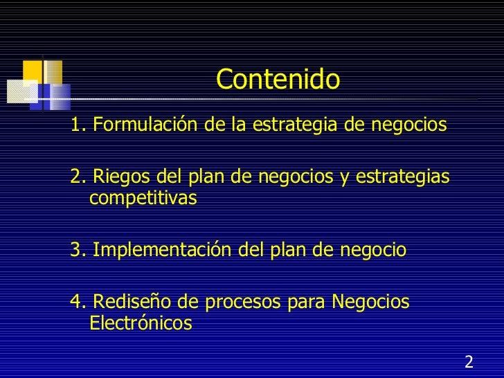 Planeacion estrategica de los negocios electronicos Slide 2