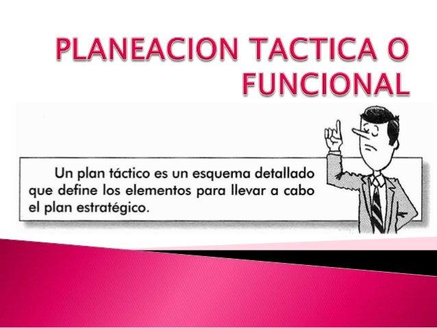     Se refiere a planes más específicos, que se elaboran en cada uno de los departamentos o áreas de la empresa y que se...