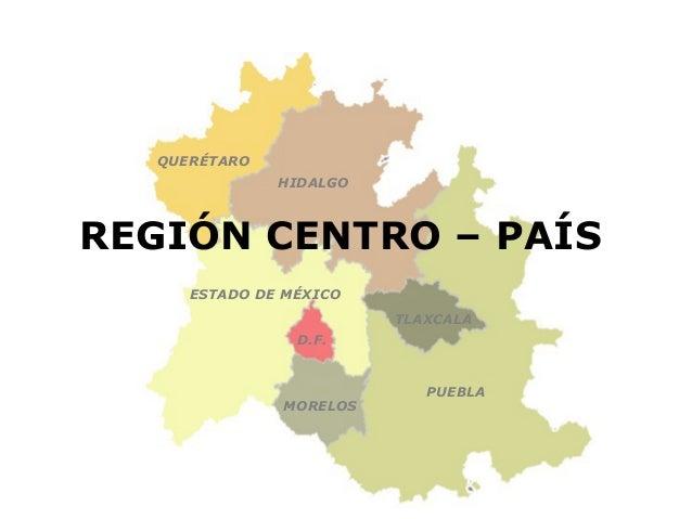 Planeaci N Territorial Regi N Centro