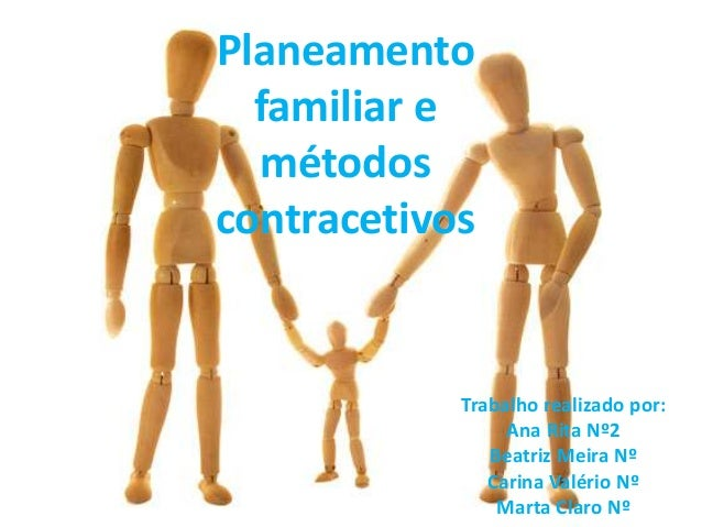Planeamento familiar e métodos contracetivos Trabalho realizado por: Ana Rita Nº2 Beatriz Meira Nº Carina Valério Nº Marta...