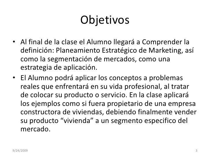 Planeamiento EstratéGico Del Marketing Slide 3