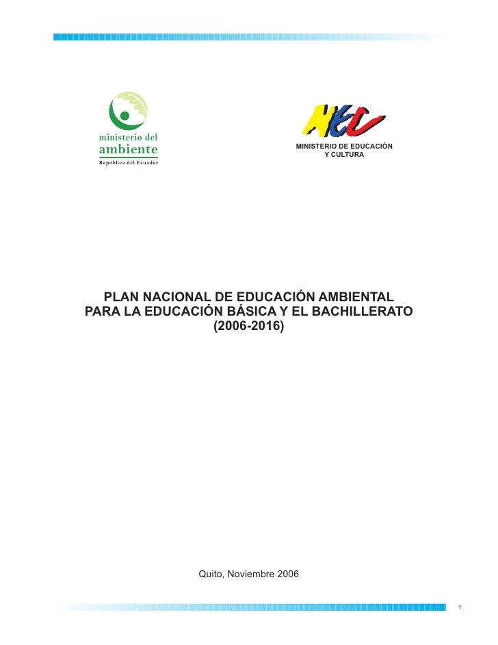 ministerio del                                             MINISTERIO DE EDUCACIÓN ambiente                               ...