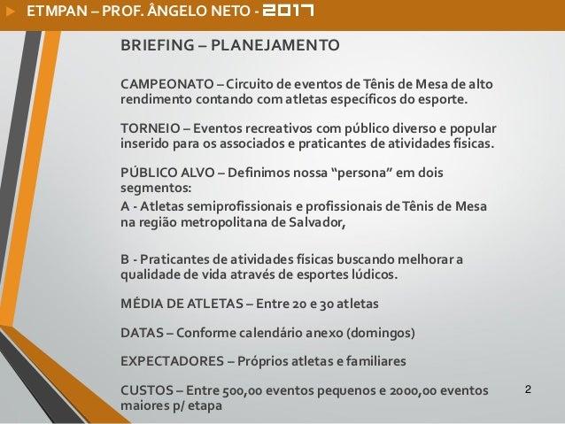 Planejamento aabb-etmpan-ctb-2017 Slide 2