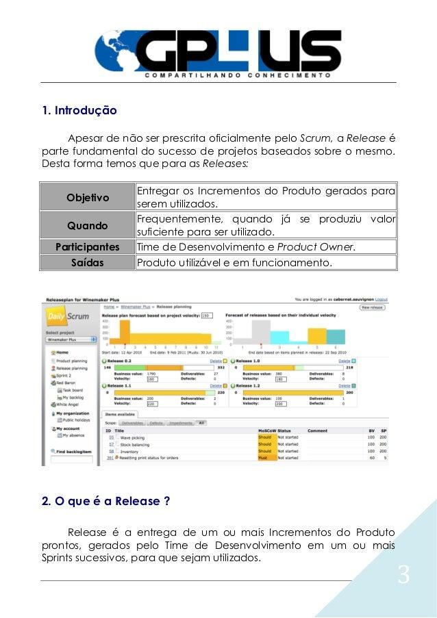 GP4US - Planejamento da Release do Produto Slide 3