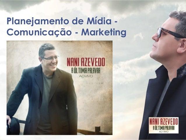 Planejamento de Mídia - Comunicação - Marketing