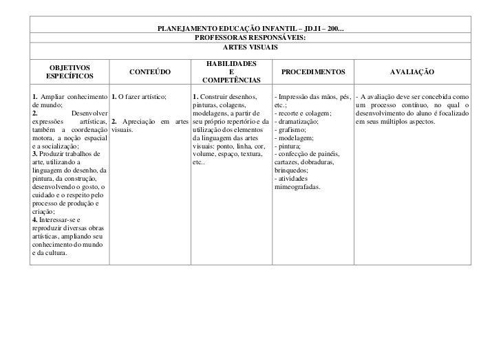 Planejamento educação infantil Slide 2