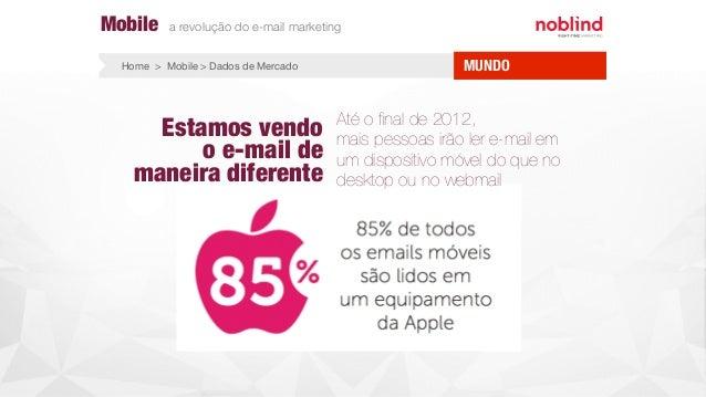 Estamos vendo o e-mail de maneira diferente Até o final de 2012, mais pessoas irão ler e-mail em um dispositivo móvel do qu...