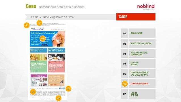 CASEHome > Case > Vigilantes do Peso Case aprendendo com erros e acertos 01 PRÉ-HEADER 02 VISUALIZAÇÃO EXTERNA 03 PESO DAS...