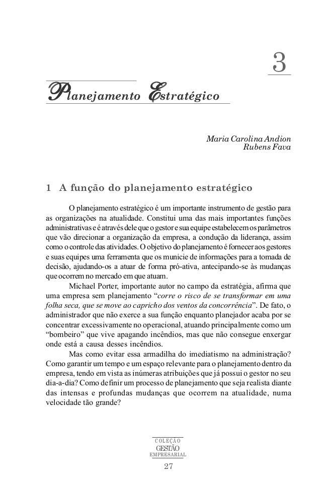 3Planejamento Estratégico                                                      Maria Carolina Andion                      ...