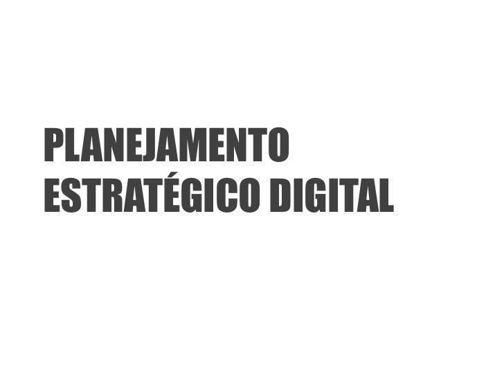 PLANEJAMENTOESTRATÉGICO DIGITAL