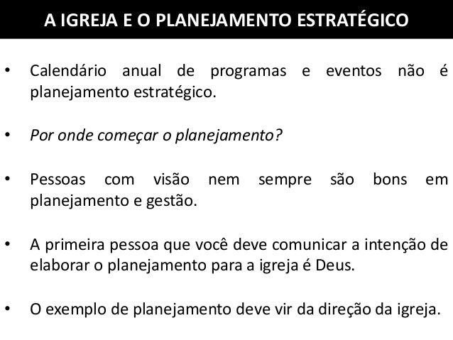 Conhecido Planejamento estratégico para igrejas ET74