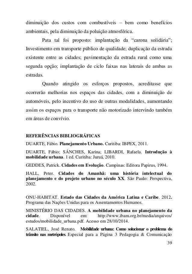 Livro Planejamento Urbano Fabio Duarte Pdf