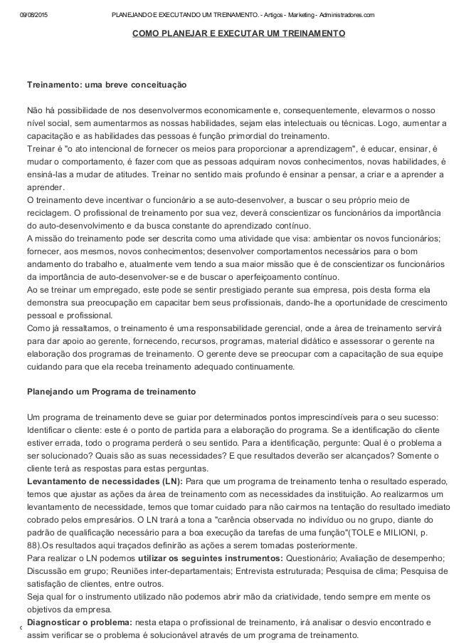 09/08/2015 PLANEJANDOEEXECUTANDOUMTREINAMENTO.ArtigosMarketingAdministradores.com data:text/html;charset=utf...