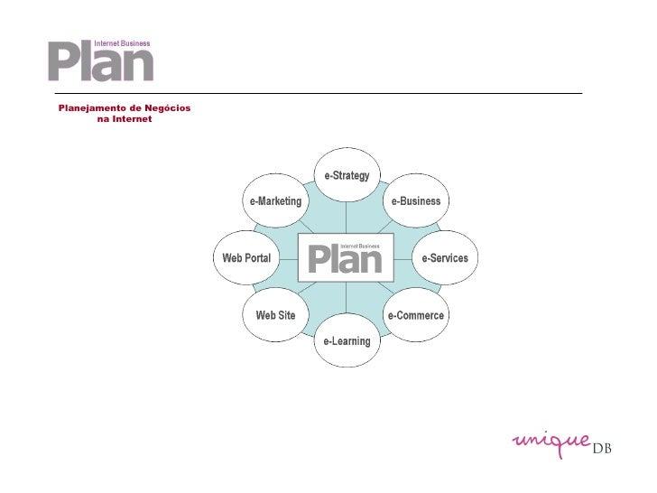 Planejamento de Negócios na Internet