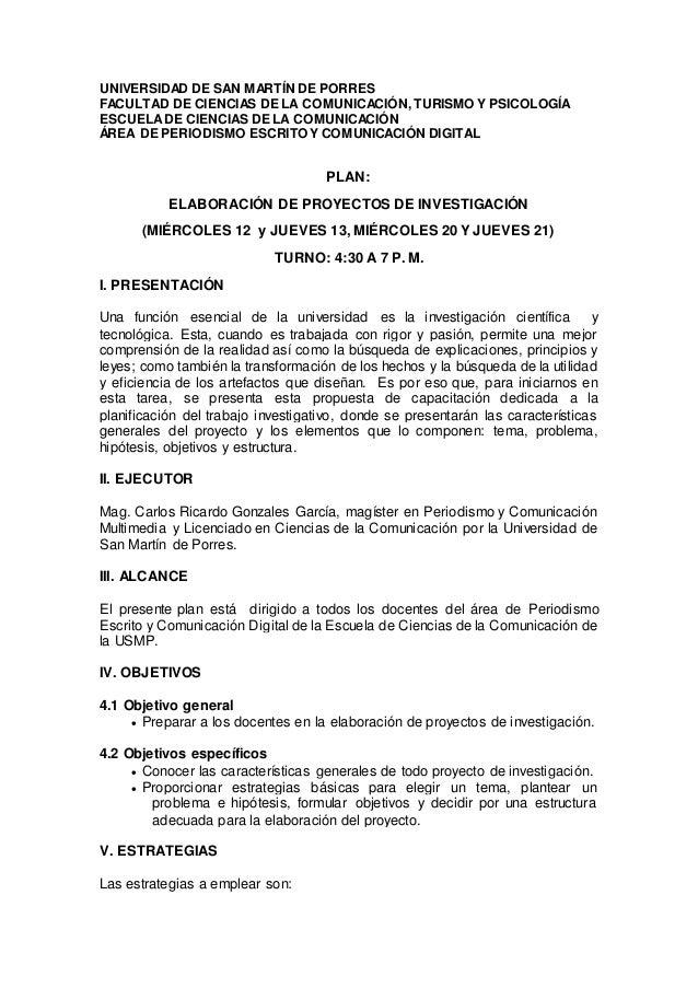UNIVERSIDAD DE SAN MARTÍN DE PORRES FACULTAD DE CIENCIAS DE LA COMUNICACIÓN, TURISMO Y PSICOLOGÍA ESCUELADE CIENCIAS DE LA...