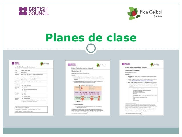 Planes de clase