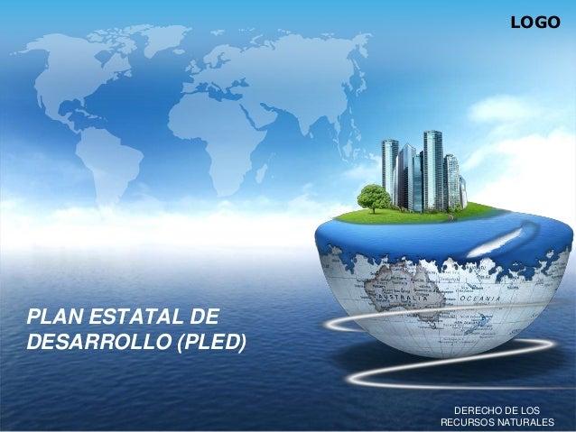 LOGO  PLAN ESTATAL DE DESARROLLO (PLED)  DERECHO DE LOS RECURSOS NATURALES