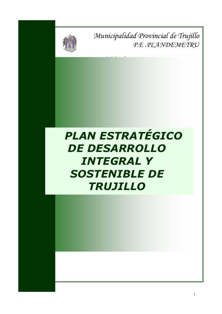 Municipalidad Provincial de Trujillo                                                                                      ...