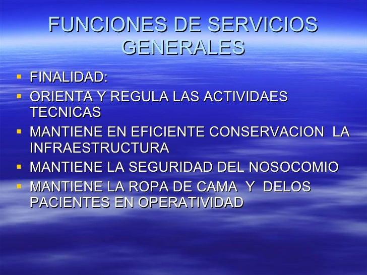 Plan estrategico de servicios generales Slide 2
