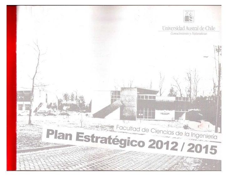 Plan estrategico fci 2012 2015