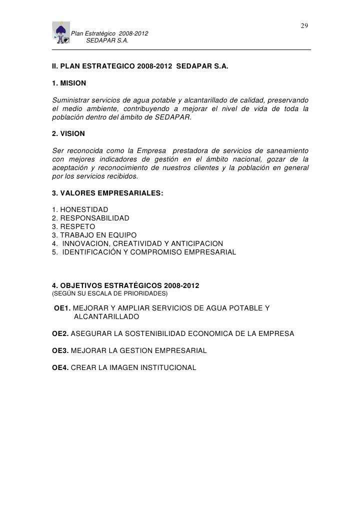 11                                                                         29      Plan Estratégico 2008-2012           SE...