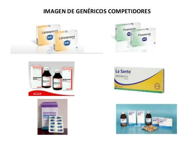 IMAGEN DE GENÉRICOS COMPETIDORES