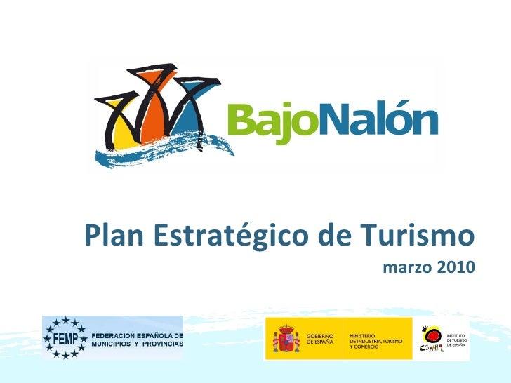 Plan Estratégico de Turismo marzo 2010