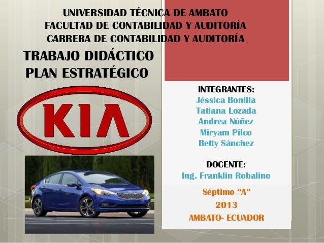 UNIVERSIDAD TÉCNICA DE AMBATO FACULTAD DE CONTABILIDAD Y AUDITORÍA CARRERA DE CONTABILIDAD Y AUDITORÍA  TRABAJO DIDÁCTICO ...