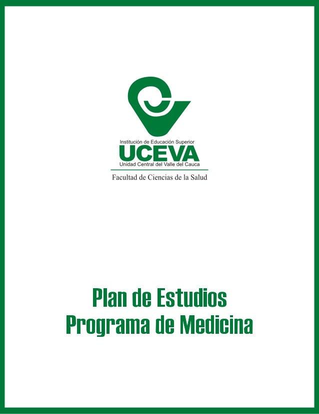Pensum Programa de Medicina - UCEVA
