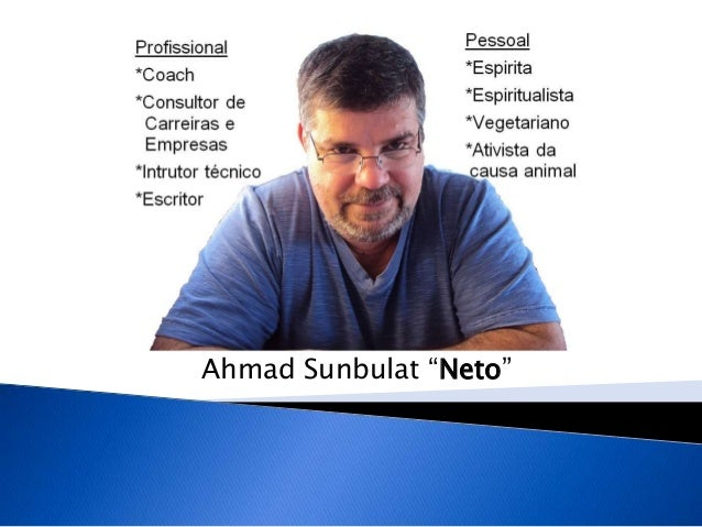 "Ahmad Sunbulat ""Neto"""