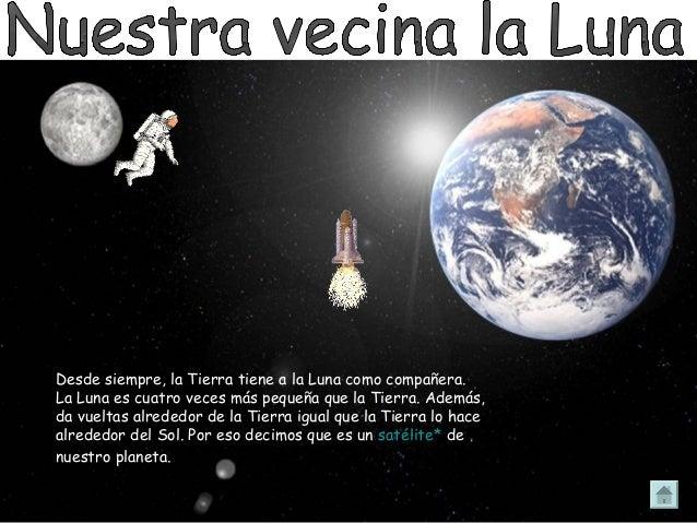 Resultado de imagen de La Luna como vecina de la Tierra