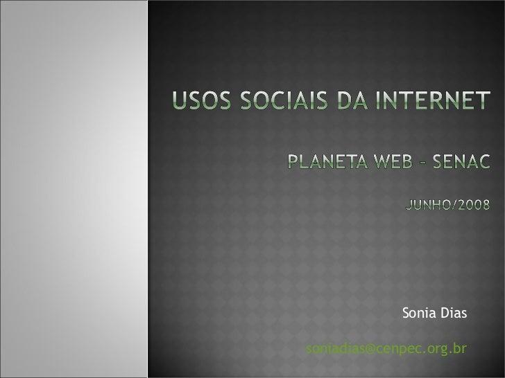 Sonia Dias [email_address]
