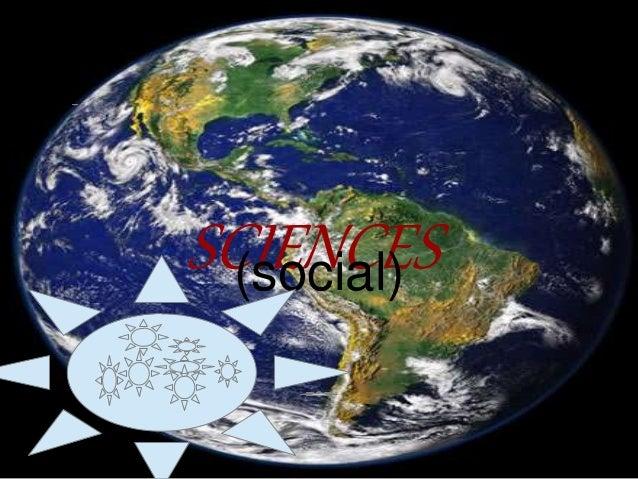SCIENCES(social)