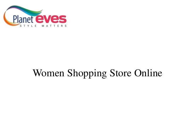 Women Shopping Store Online