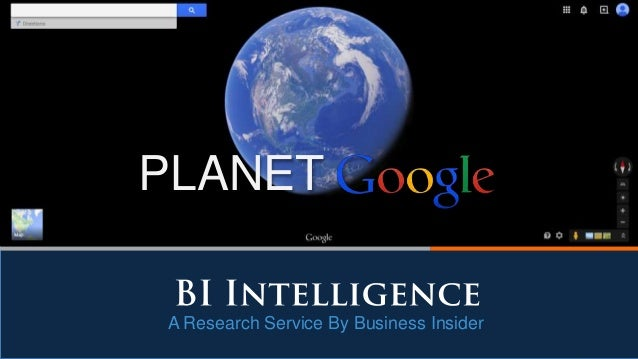 A Research Service By Business Insider PLANET