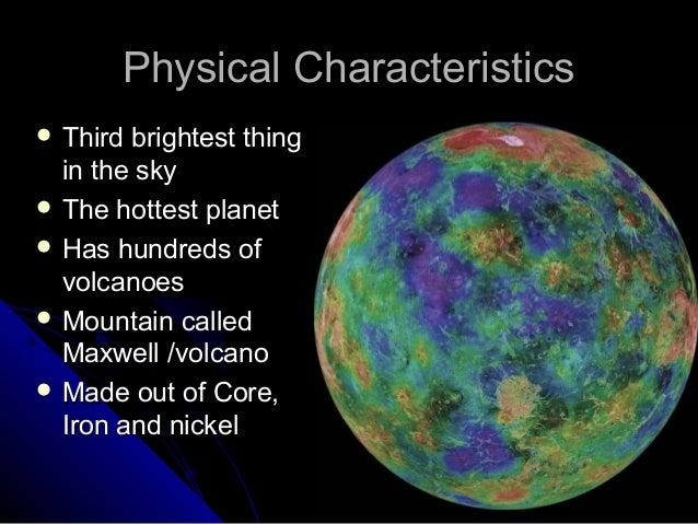 physical characteristics of planets - photo #33