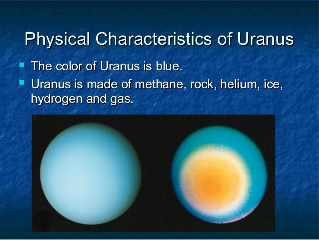 physical characteristics of the planets - photo #29