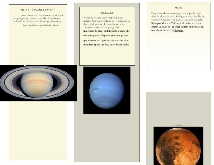 Mars       visit the planet saturn                                                                  neptune               ...