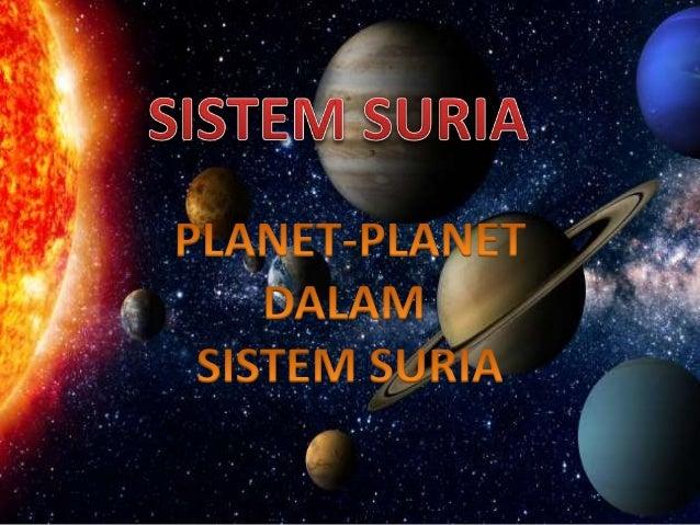 Unit 9 Urutan Planet Dalam Sistem Suria Youtube