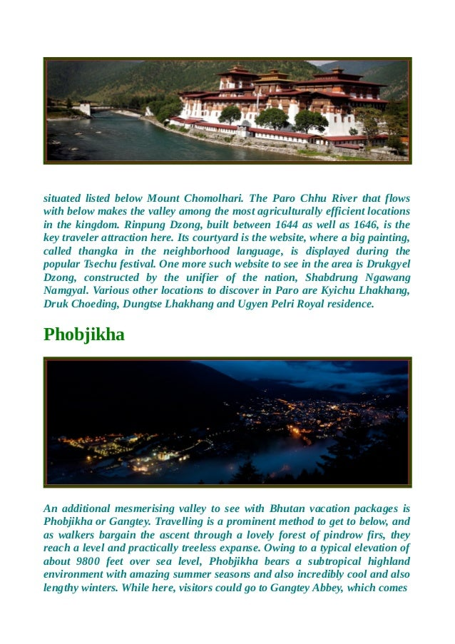 Plan exotic and customized bhutan tour packages Slide 2