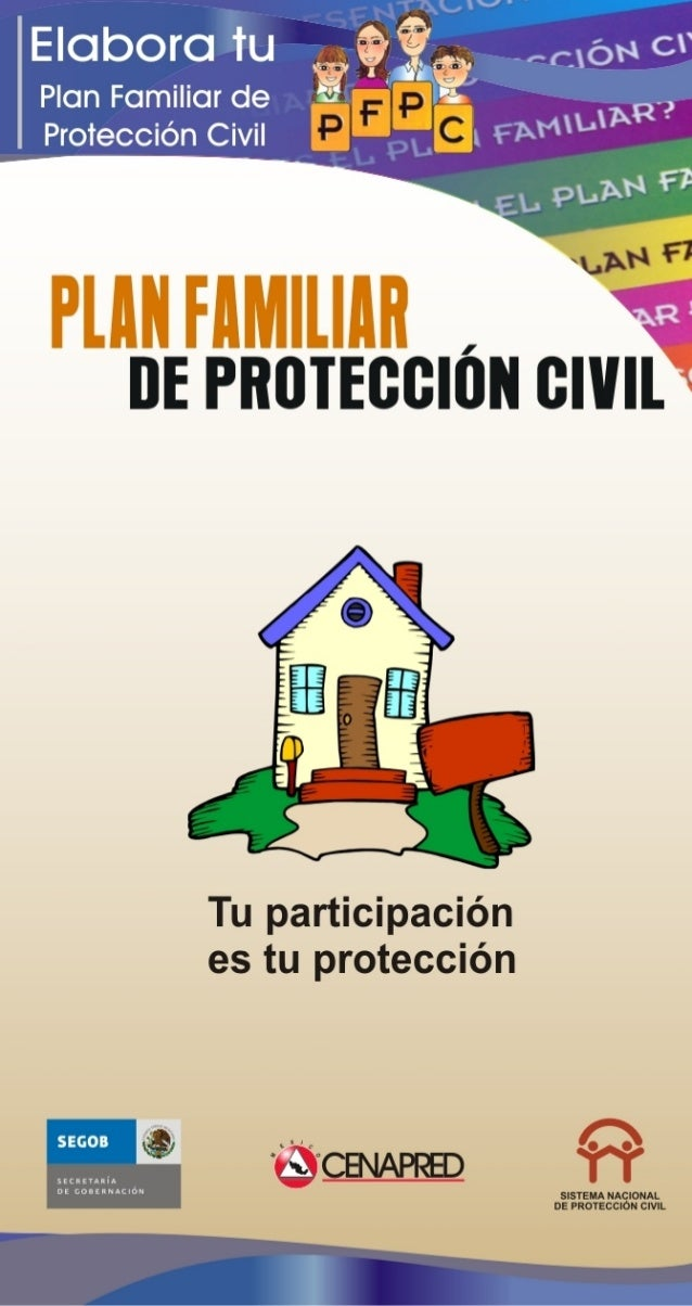 Plan Familiar Protección Civil